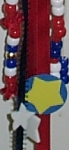 Detail of Fourth of July Door Hanger